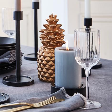 ananas engels kerzen. Black Bedroom Furniture Sets. Home Design Ideas
